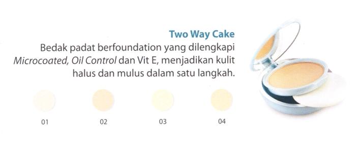 Beauty By Wardah Two Way Cake