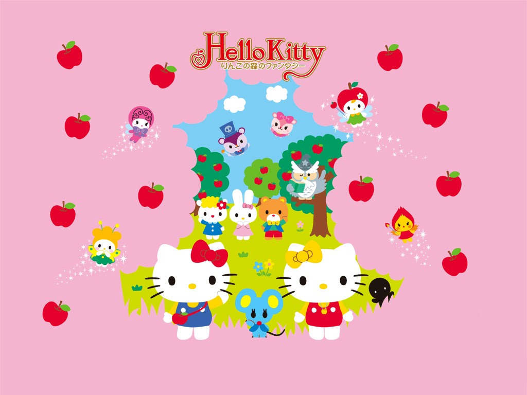 Amazing Wallpaper Hello Kitty Apple - hk+apple  Pictures_223488.bmp
