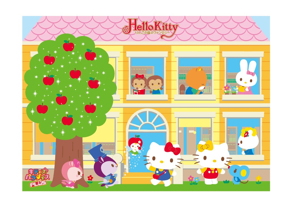 Mimmy And Hello Kitty Wallpaper Mimmy And Hello Kitty House