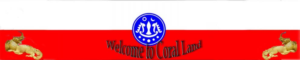 Welcome to Coral Land (သႏၱာၿမီ)