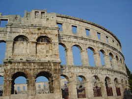 The coliseum in Pula