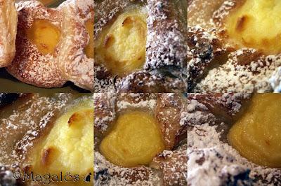 Collage av Wienerbröd.