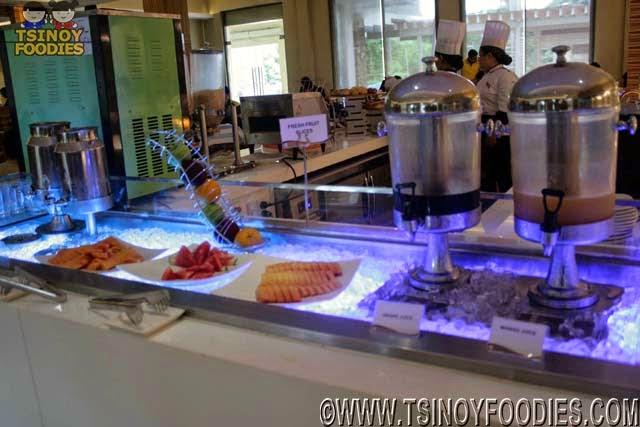 salt restaurant breakfast buffet