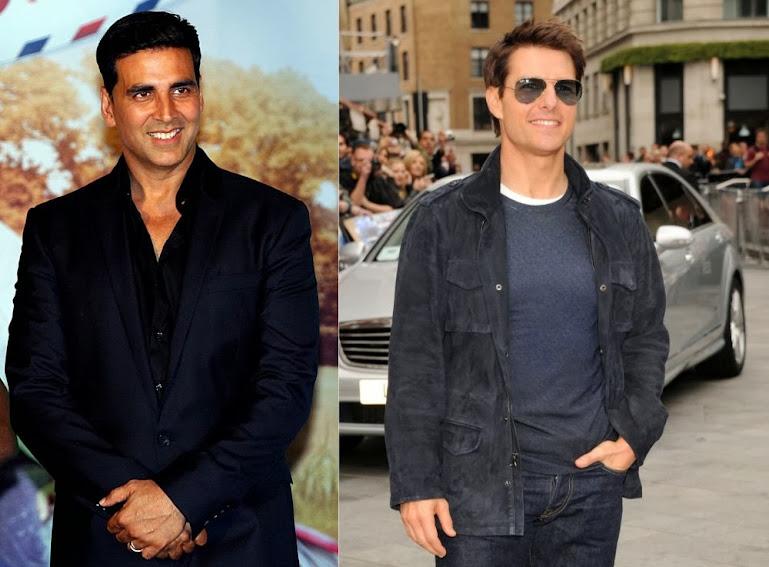 Akshay Kumar And Tom Cruise
