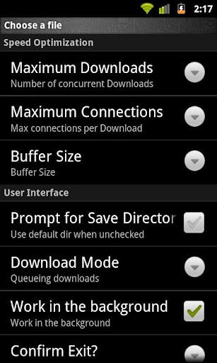 Turbo Download Manager APk v2.2