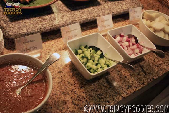 peanut sauce toppings