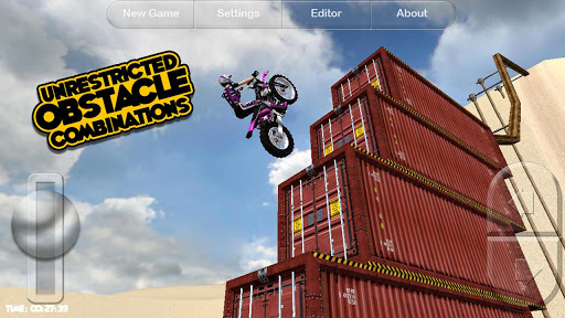 Motorbike android racing game