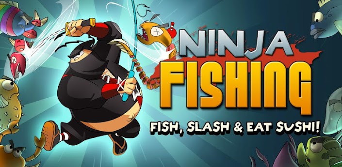 Descargar Ninja Fishing v1.6.1.1 Mod apk Android Full Gratis (Gratis)