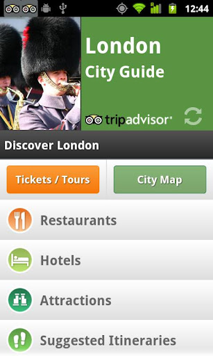 London City Guide maps