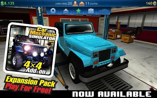 Car Mechanic Simulator 2014 v1.3 APK [MOD DINERO] (FULL)