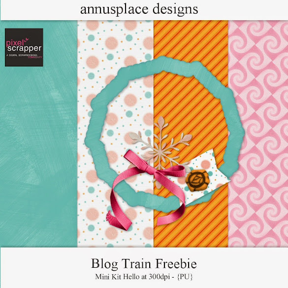 Blog Train freebie by Annu's Place Designs