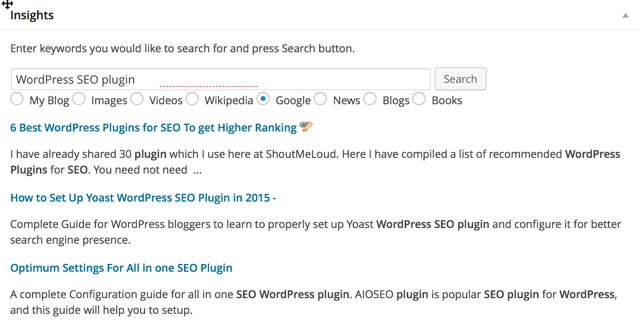 WordPress insights plugin : eAskme