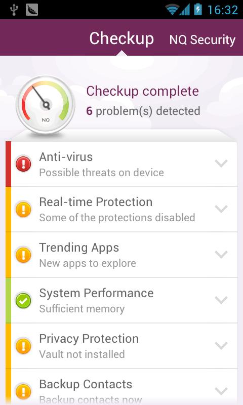 تطبيق NQ Mobile Security & Antivirus v6.8.6 القوي في مضادات الفيروس