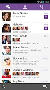 تطبيق Viber v3.1.0.1103 المنافس الشرس في عالم الدردشة