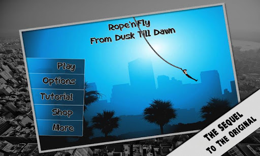 Rope'n'Fly - From Dusk v1.0 apk download