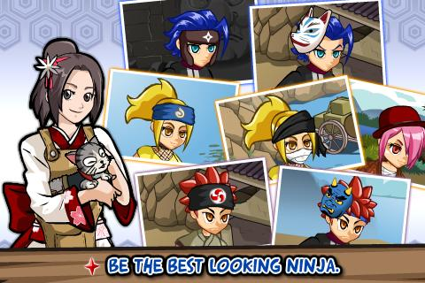 Ninja Saga apk sd data