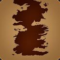 Fantástico mapa interactivo de los siete reinos y el continete de essos de Juego de Tronos
