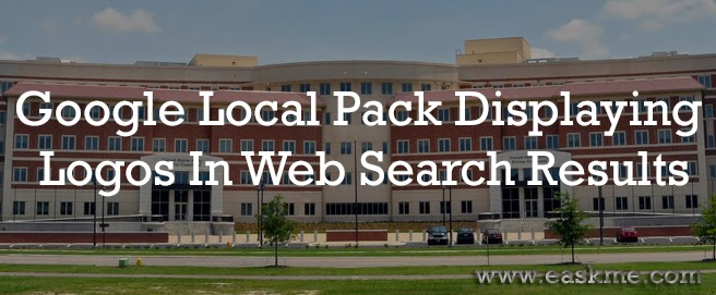 Google Local Pack Displaying Logos In Web Search Results : eAskme