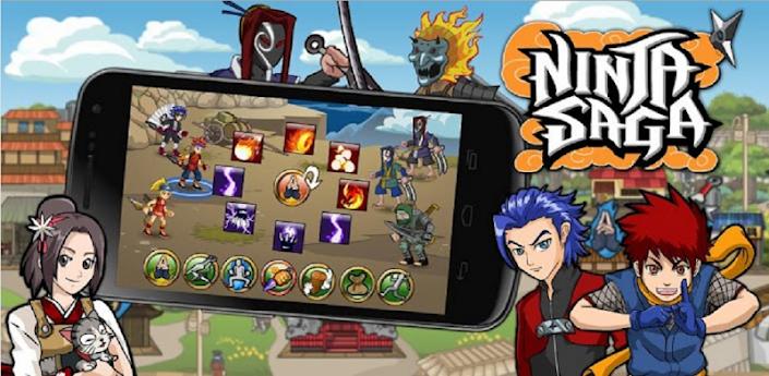 Descargar Ninja Saga 0.9.14 Mod (ilimitado dinero y Tokens) apk Android Full Gratis (Gratis)
