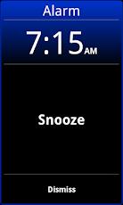 Android alarm clock: Alarm Clock Xtreme Free