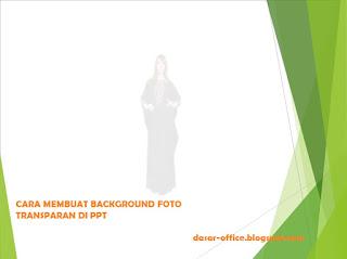 Cara Membuat Gambar Transparan di PPT (PowerPoint)