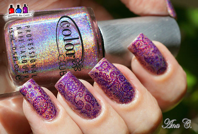 color club, halo hues, Halo-Graphic, DRK Nails, Violeta, DRK violeta, Whats up nails a003
