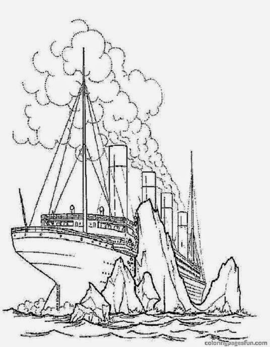 √ Free Printable Titanic Coloring Pages | Titanic Coloring ...