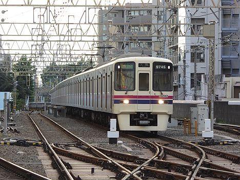 京王電鉄 都営新宿線直通 急行 大島行き1 9000系