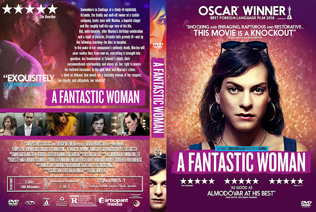 A Fantastic Woman DVD Cover