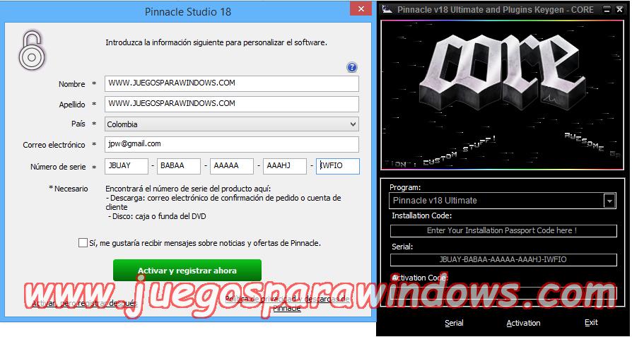 Pinnacle Studio Ultimate v18.0.1 Multilenguaje ESPAÑOL (CORE) 2
