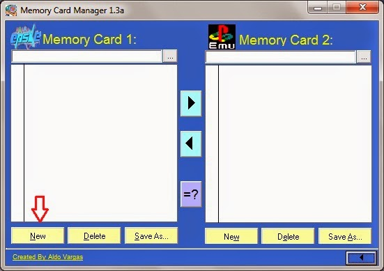 Cara mudah membuat file Memorycard untuk Emulator ePSXe dan Psxeven