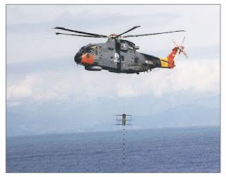 Активный вертолетный гидролокатор дальнего действия DS-100