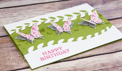 Beautiful Butterfly Card for Any Occasion - get the supplies and details here