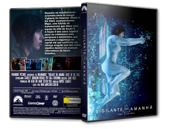 Capa DVD Vigilante Do Amanhã Ghost In The Shell [Exclusiva]