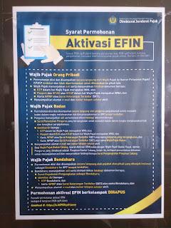 Cara Mendapatkan e-FIN Dan Aktivasi e-Fin Untuk e-Filing Wajib Pajak Secara Online