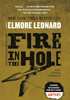 Fire in the Hole by Elmore Leonard (Book cover)