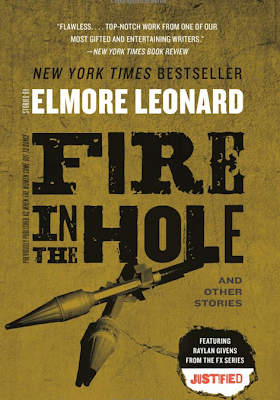 Fire in the Hole by Elmore Leonard – Book Cover