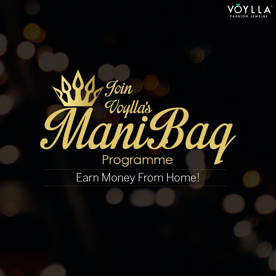 Voylla Initiative – Earn Money from Home, Join Manibag Programme