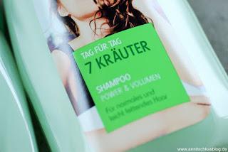 """Review: Geheimwaffe bei """"Problemkopfhaut"""" - Cien - 7 Kräuter Shampoo - www.annitschkasblog.de"""