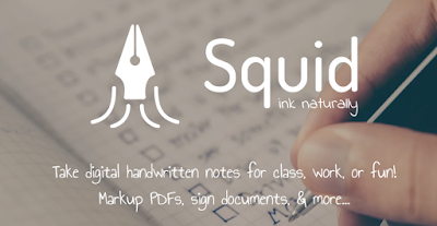 Squid Notes - Take digital handwritten notes for class, work, or fun! Markup PDFs, sign documents, & more