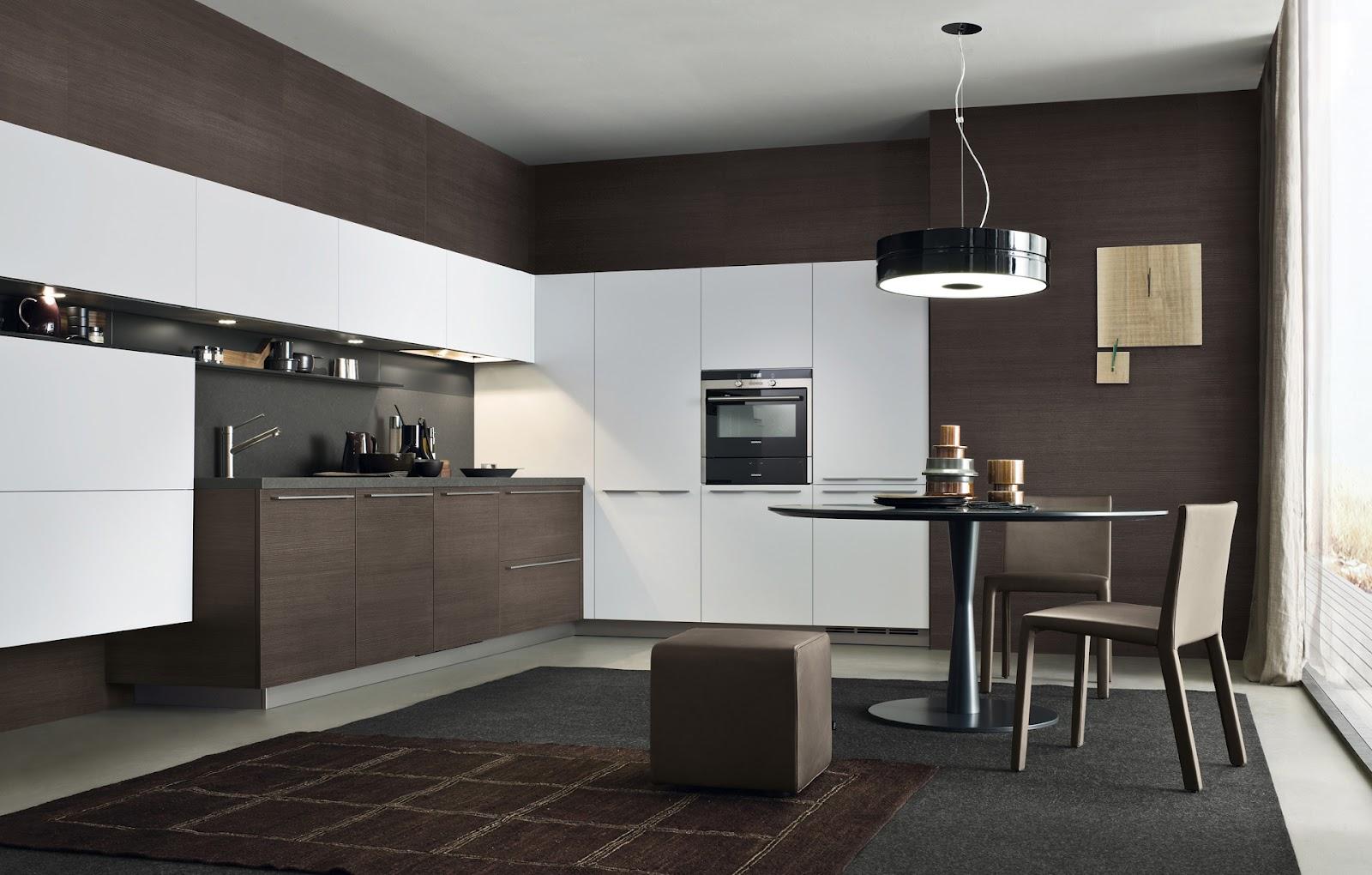 Lo claro y lo oscuro en la cocina  Cocinas con estilo