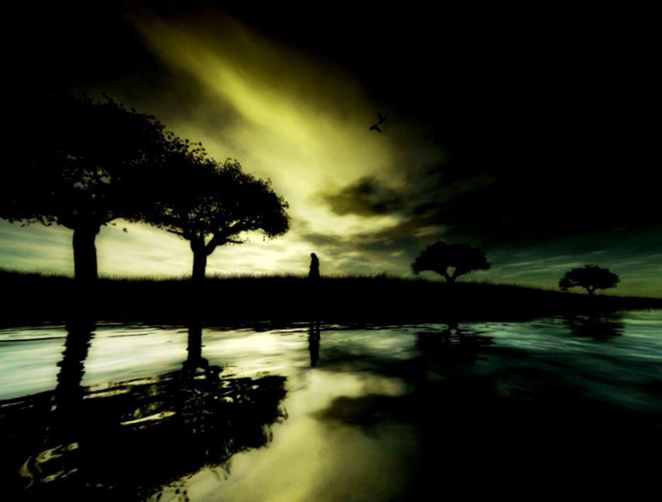 Dark Nature Wallpaper Background | All HD Wallpapers