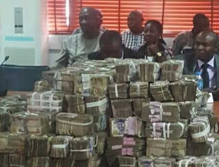 Rivers Rerun: See Photos Of N111m Gov. Wike's Bribe Recovered From INEC Officials