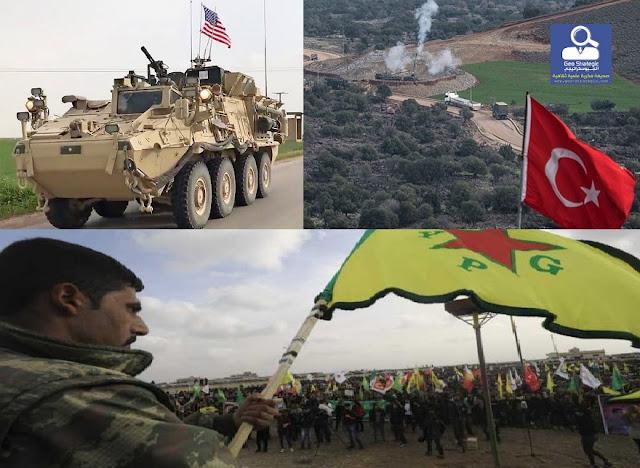 الوجود الأمريكي والتوجهات الجديدة في سوريا (قراءة مبسطة للأحداث المستجدة في سوريا)