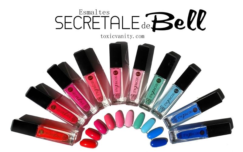 Esmaltes Secretale Gel UV de Bell | Swatches y review | Toxic Vanity ...