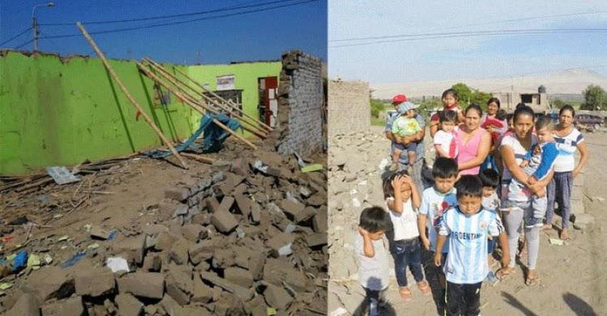 Niños de centro poblado Cambio Puente en Áncash, estudian en una vivienda