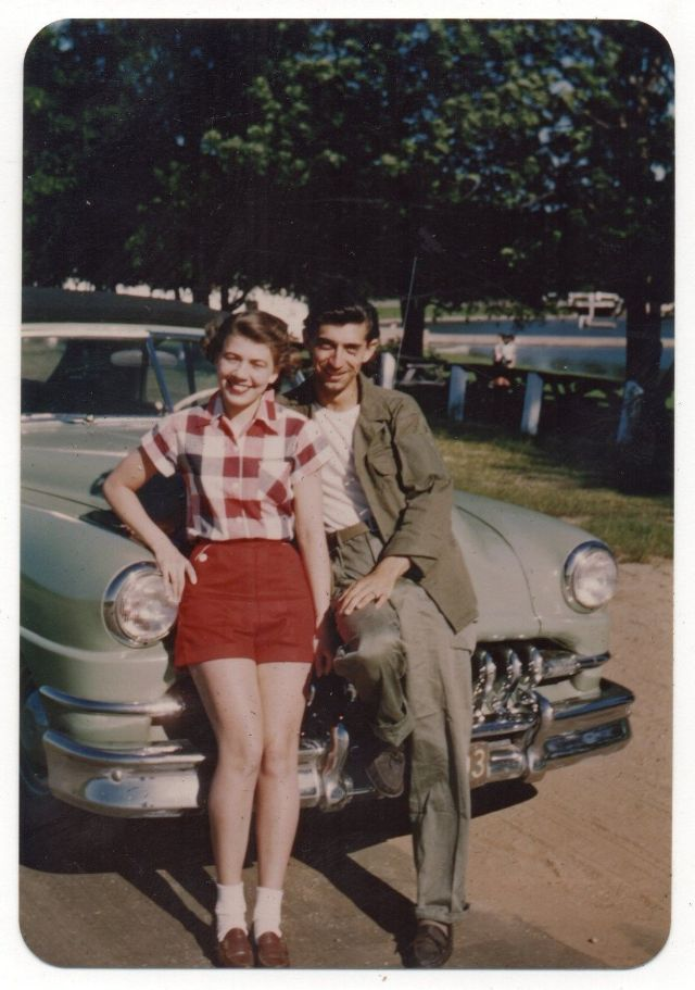 46 Lovely Portrait Photos Of Couples From The 1950s Vintage Everyday