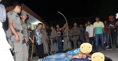 Satpol PP Kota Padang Amankan 6 Remaja yang 'Doyan' Tawuran