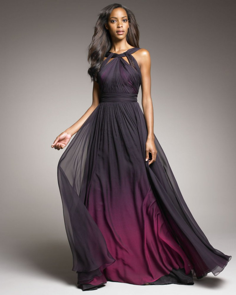 beautiful ombre dress ombre wedding dress beautiful ombre wedding dress black purple a line