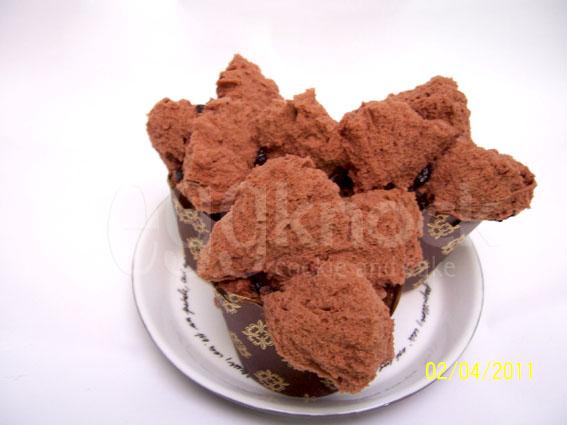 Resep Bolu Jadul Ny Liem: EggKnock: Brownies Kukus Mekar
